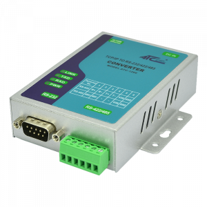 Foto - ATC-1200 Convertitore TCP/IP a RS232/422/485 - Vista lato inferiore