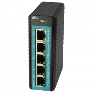 ATC-205 Industrial 5-Port Ethernet Switch - Vista Frontale