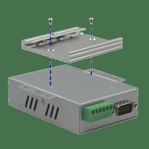 Foto - Kit montaggio su guida DIN ATC