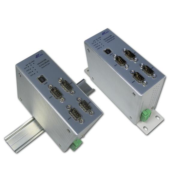 Foto - Convertitore USB-4 RS232 ATC-804
