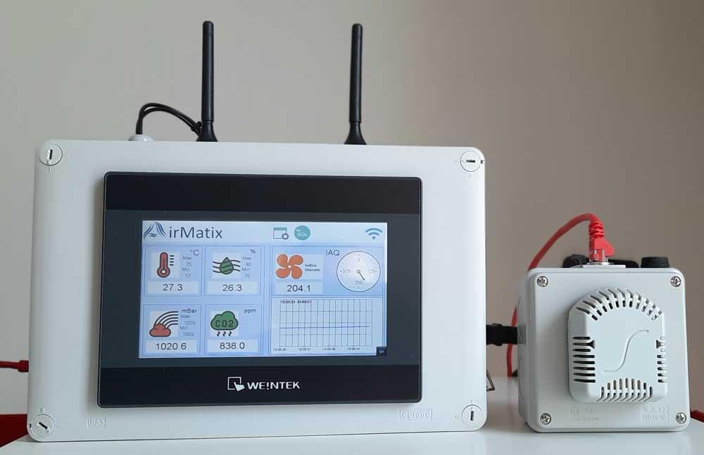 Storie Elsist: AirMatix, gestione intelligente della qualità dell'aria.