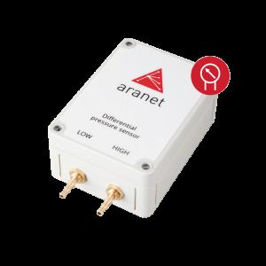 Foto - Sensore di Pressione differenziale wireless Aranet