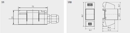 Schema - Dimensioni STI-STID