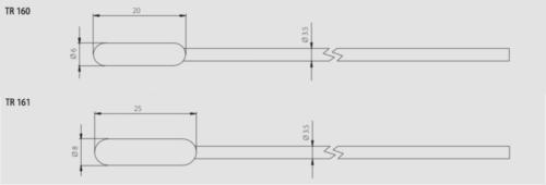 Schema - Dimensioni TR16x