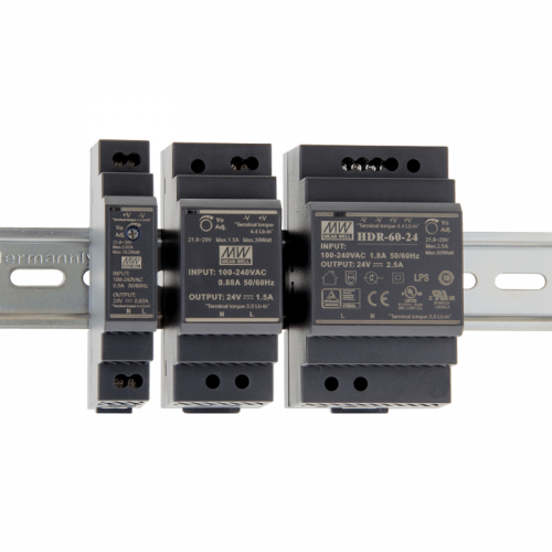 Photo - Meanwell DIN Rail Power supplies HDR Series