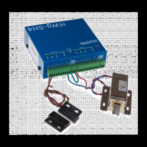 Foto - SH4 Sistema di Controllo accessi - Vista collegamenti