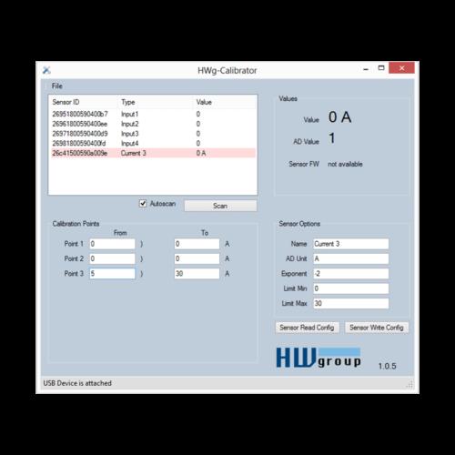Schermata - HWg-Calibrator