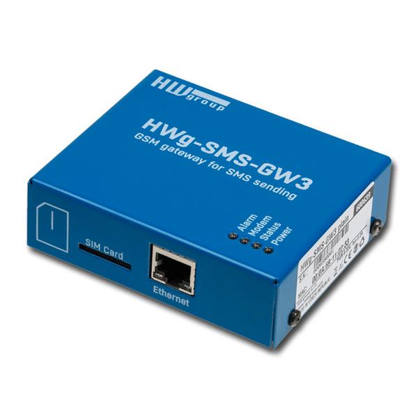 Foto - HWg-SMS-GW3 Gateway SMS
