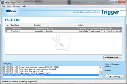 HWg-PDMS monitoring software - Elsist