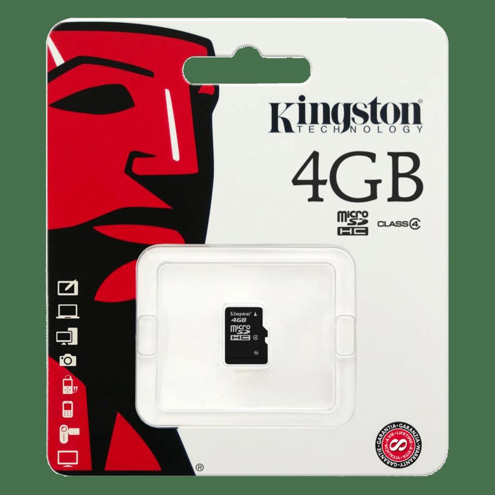 Foto - Kingston MicroSD 4GB