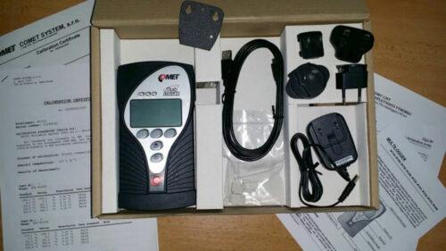 Foto - Data logger igrometro termometro - M1322 Contenuto confezione