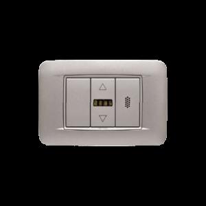 Foto - Sensore Temperatura e Umidità Ambiente con Display da incasso Modbus MB-THL-SxxMB-THL-Sxx