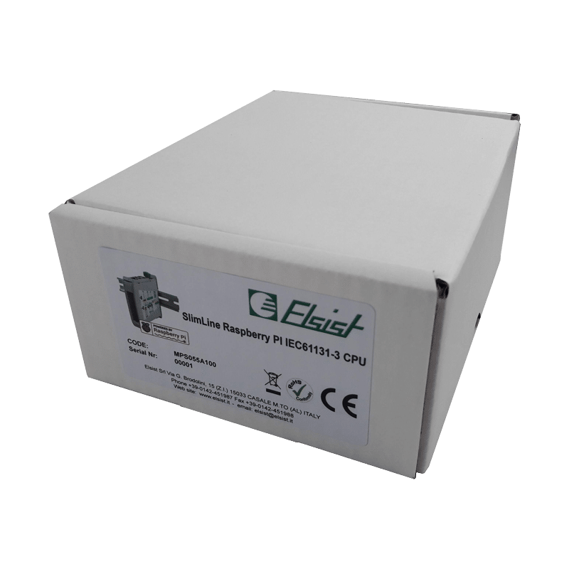 Modulo CPU PLC SlimLine Raspberry PI IEC61131-3 - Imballo