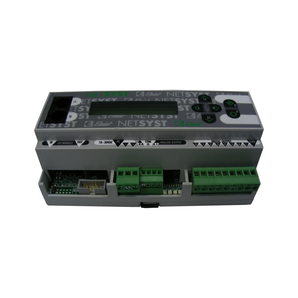 Foto - NETLOG III Full RS485 Relè ETH + Opzione Display (2)