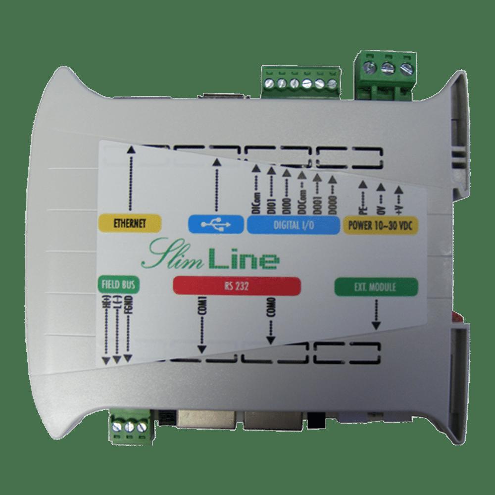 PLC CPU module SlimLine CODESYS Base IEC61131-3 - Elsist