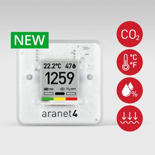 Foto - Sensore di qualità dell'aria wireless NEW Aranet 4 PRO