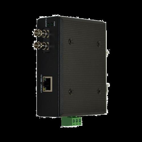Foto - Convertitore Ethernet-Fibra ottica NMC-210 (Vista fronte)