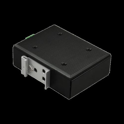 Foto - Convertitore Ethernet-Fibra ottica NMC-210 (Vista retro)