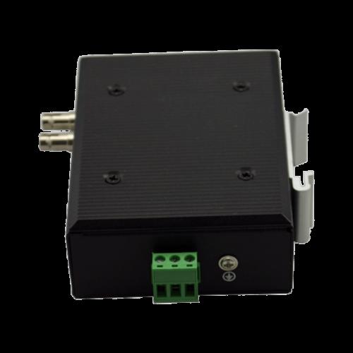 Foto - Convertitore Ethernet-Fibra ottica NMC-210 (Vista sotto)