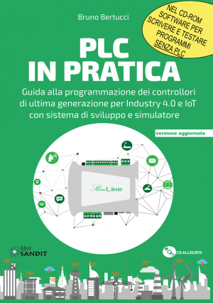 "Foto - Copertina Libro ""PLC In Pratica"""