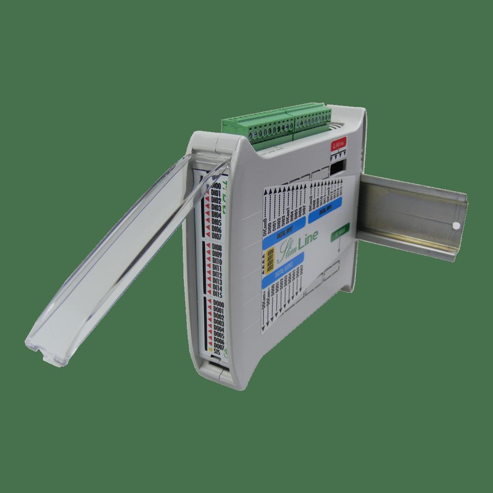 Foto - SlimLine modulo espansione I/O uscite statiche 16In 8Out (4)