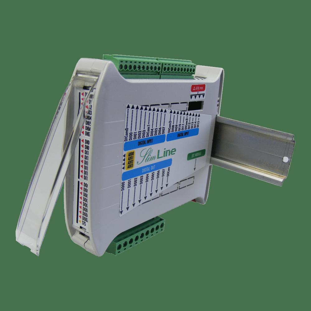 Foto - SlimLine modulo espansione 16+8 I/O digitali (4)