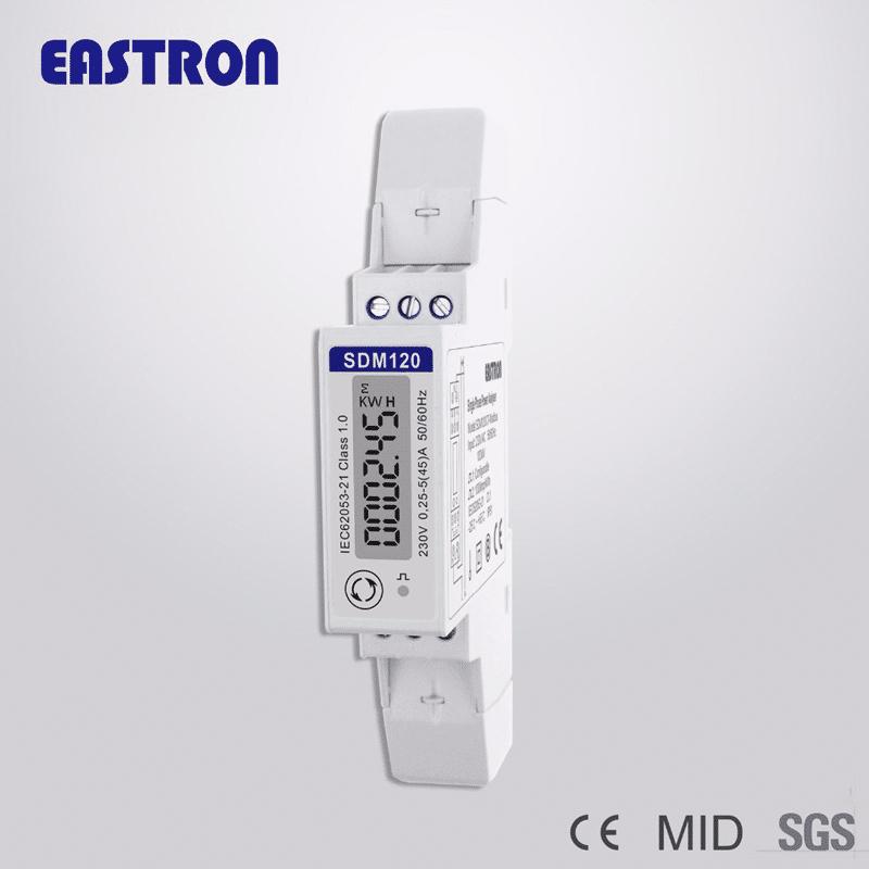 Foto - Contatore di energia monofase SDM120 Certificato MID