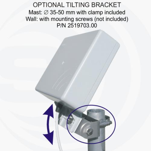 Foto - Sistema di montaggio tilting opzionale per SMP
