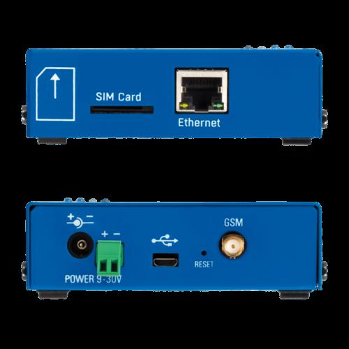 Foto - HWg-SMS-GW3 Gateway SMS - Vista lati