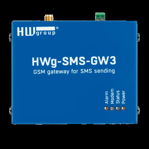 Foto - HWg-SMS-GW3 Gateway SMS - Vista frontale