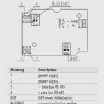 Schema - Connessioni ST485