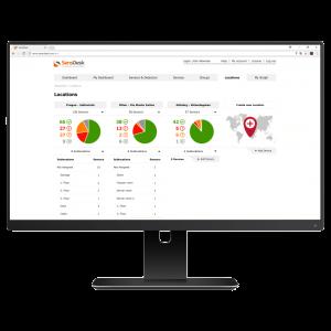 Foto - Portale di monitoraggio e controllo per progetti IoT SensDesk