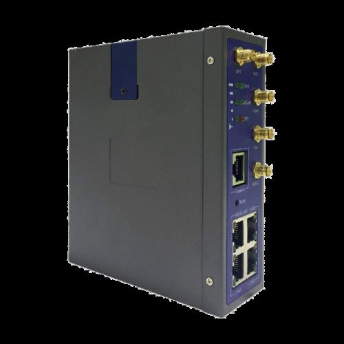 Foto - WL-G510 Router Cellulare 4G/LTE con switch 4 porte Gigabit e I/O - Vista lato sx