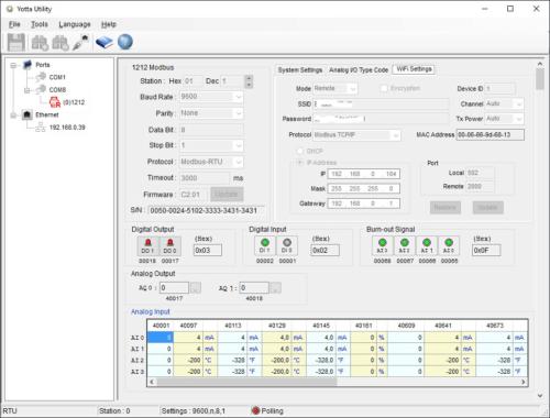 Screen - Yotta Utility