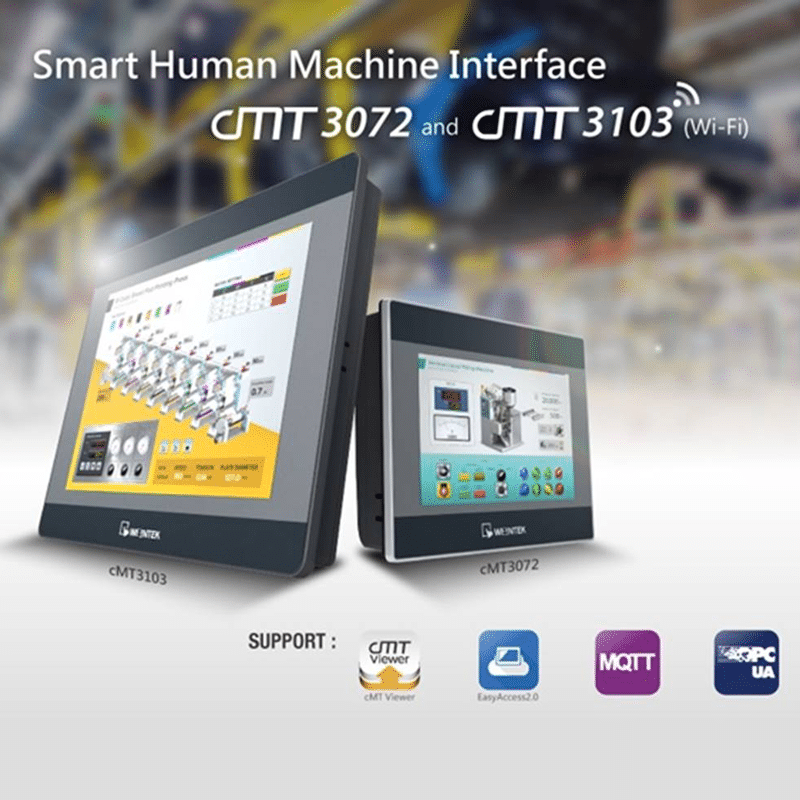 Foto - Cloud HMI Serie cMT con Display integrato
