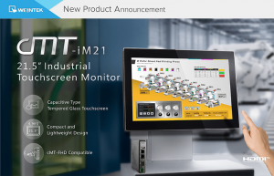 "Foto - Monitor touchscreen industriale HDMI 21"" CMT-IM21"